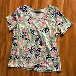 Coral Bay Floral Multi Colored Shirt
